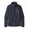 Patagonia Womens Re-Tool Snap-T Fleece Pullover New Navy/ Dark Dark New Navy X-Dye