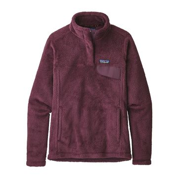 Patagonia Womens Re-Tool Snap-T Fleece Pullover Deep Plum/ Light Balsamic X-Dye (Close Out)