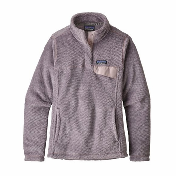 Patagonia Womens Re-Tool Snap-T Pullover Smokey Violet/ Glaze Purple X-Dye