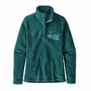 Patagonia Womens Re-Tool Snap-T Pullover Tasmanian Teal/ Dark Tasmanian Teal X-Dye (Close Out)
