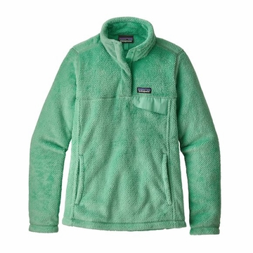 Patagonia Womens Re-Tool Snap-T Pullover Vjosa Green/ Vjosa Green X-Dye (close out)