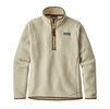 Patagonia Womens Retro Pile 1/4 Zip Pelican (close out)