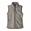 Patagonia Womens Retro Pile Fleece Vest Feather Grey (Close Out)