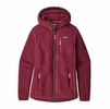 Patagonia Womens Retro Pile Hoody Arrow Red