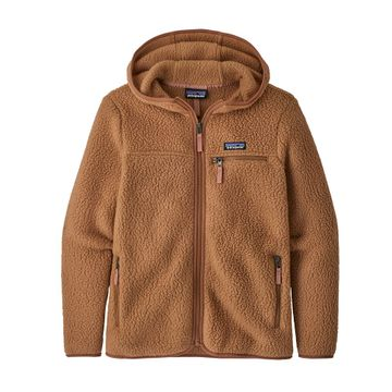 Patagonia Womens Retro Pile Hoody Beech Brown (Close Out)