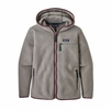 Patagonia Womens Retro Pile Hoody Feather Grey (Close Out)