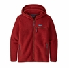 Patagonia Womens Retro Pile Hoody Molten Lava (Close Out)