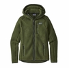 Patagonia Womens Retro Pile Hoody Nomad Green