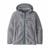 Patagonia Womens Retro Pile Hoody Salt Grey