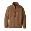 Patagonia Womens Retro Pile Marsupial Beech Brown (Close Out)