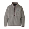 Patagonia Womens Retro Pile Marsupial Feather Grey (Close Out)