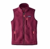 Patagonia Womens Retro Pile Vest Arrow Red (close out)