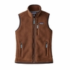 Patagonia Womens Retro Pile Vest Moccasin Brown