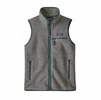Patagonia Womens Retro Pile Vest Salt Grey