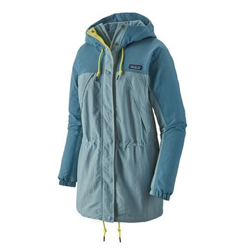 Patagonia Womens Skyforest Parka Berlin Blue (Close Out)