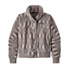 Patagonia Womens Snap Front Retro-X Jacket Nordic Cabin: Pumice