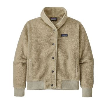 Patagonia Womens Snap Front Retro-X Jacket Pelican
