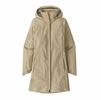Patagonia Womens Torrentshell 3L City Coat Pumice