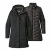 Patagonia Womens Tres 3-in-1 Park Black