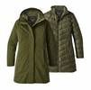 Patagonia Womens Tres 3-in-1 Parka Nomad Green