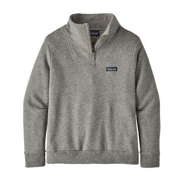 Patagonia Womens Woolie Fleece Pullover Drifter Grey (Close Out)
