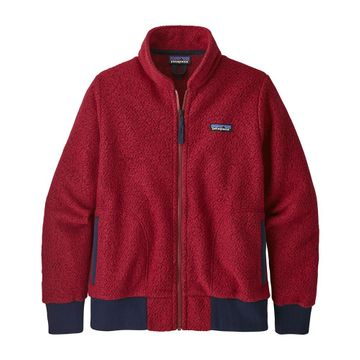 Patagonia Womens Woolyester Fleece Jacket Molten Lava (Close Out)