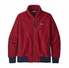 Patagonia Womens Woolyester Fleece Jacket Molten Lava