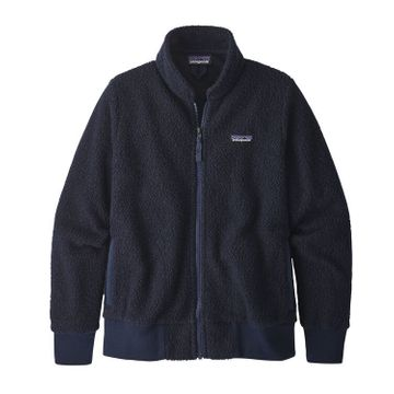 Patagonia Womens Woolyester Fleece Jacket Navy Blue