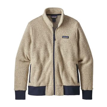 Patagonia Womens Woolyester Fleece Jacket Oatmeal Heather