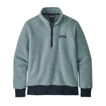 Patagonia Womens Woolyester Fleece Pullover Big Sky Blue