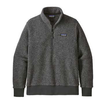 Patagonia Womens Woolyester Fleece Pullover Forge Grey (Close Out)