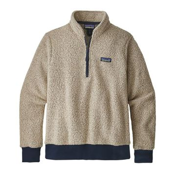 Patagonia Womens Woolyester Fleece Pullover Oatmeal Heather