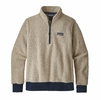 Patagonia Womens Woolyester Fleece Pullover Oatmeal Heather (Close Out)