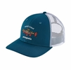 Patagonia World Trout Brook Fishtich Trucket Hat Big Sur Blue