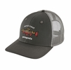 Patagonia World Trout Brook Fishtich Trucket Hat Forge Grey