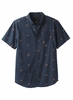 Prana Mens Broderick Shirt Slim Nautical