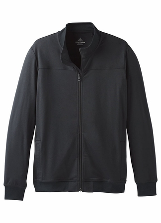 Prana Mens Gravity Track Jacket Black (Close Out)