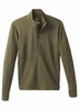 Prana Mens Jarvis 1/2 Zip Cargo Green