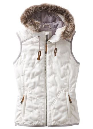 Prana Womens Calla Vest Bone (Close Out)