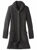 Prana Womens Elsin Sweater Coat Black