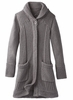 Prana Womens Elsin Sweater Coat Gravel
