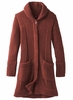 Prana Womens Elsin Sweater Coat Mulled Wine