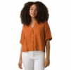 Prana Womens Iguala Top Copper Speckles