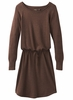 Prana Womens Leigh Dress Wedged Wood Heather