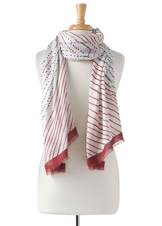 Prana Womens Palma Scarf Rusted Roof (Close Out)