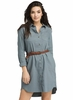 Prana Womens Yarrow Dress Weather Blue (Close Out)