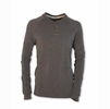 Purnell Mens Performance Knit Heather Henley Gray