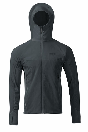 Rab Mens Alpha Flux Jacket Beluga