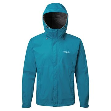 Rab Mens Downpour Jacket Azure (Close Out)