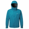 Rab Mens Downpour Jacket Azure